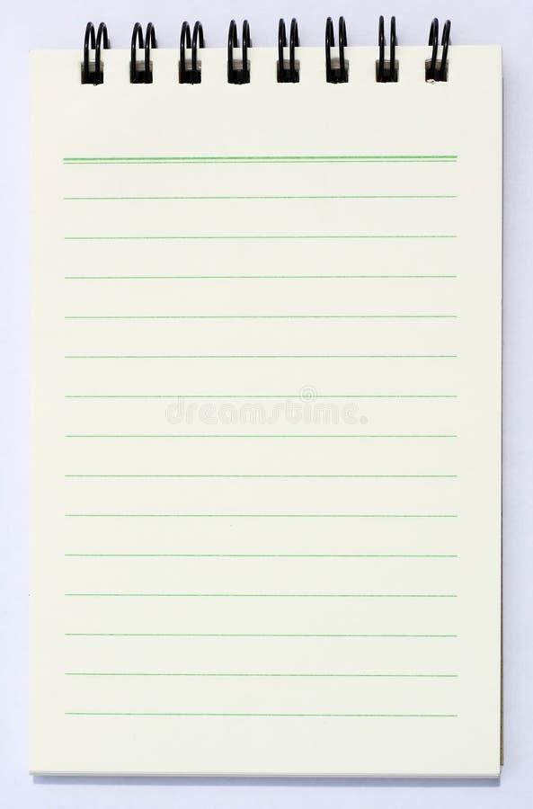książkowa notatka royalty ilustracja