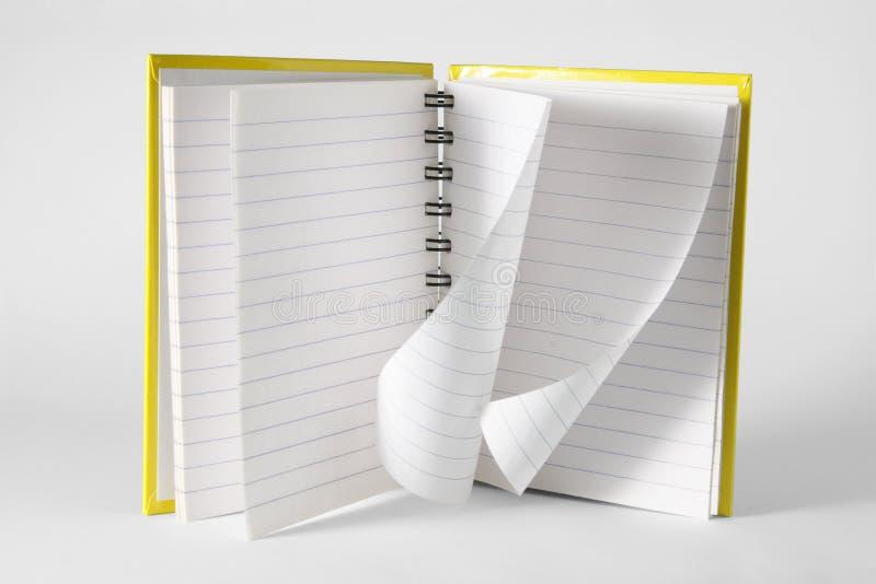 Książkowa Notatka Obraz Royalty Free