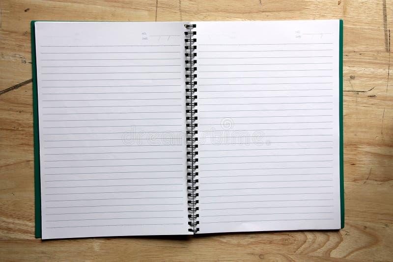 książkowa notatka zdjęcia stock