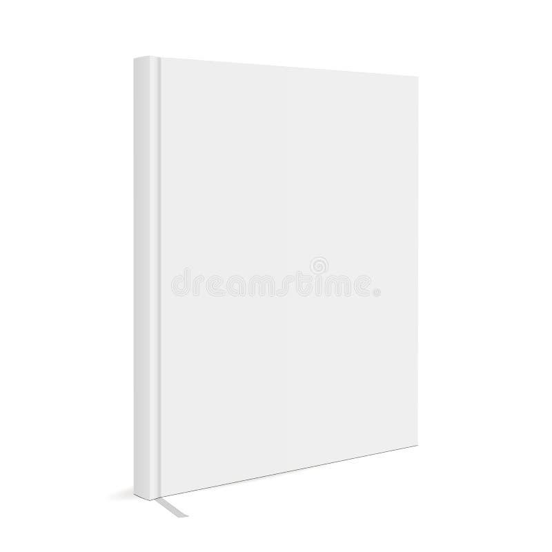 Książkowa pokrywa z bookmark ilustracja wektor