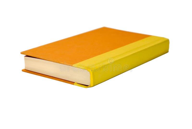książkowa pomarańcze obraz stock