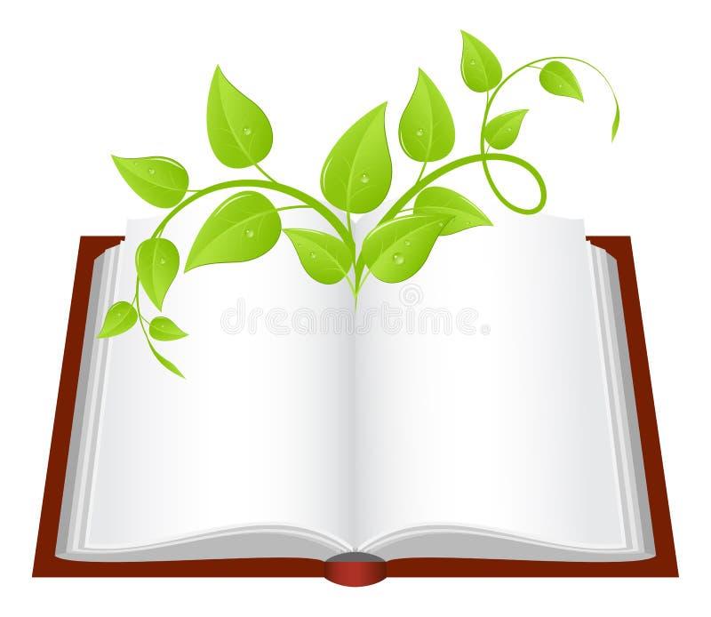 książkowa roślina ilustracji