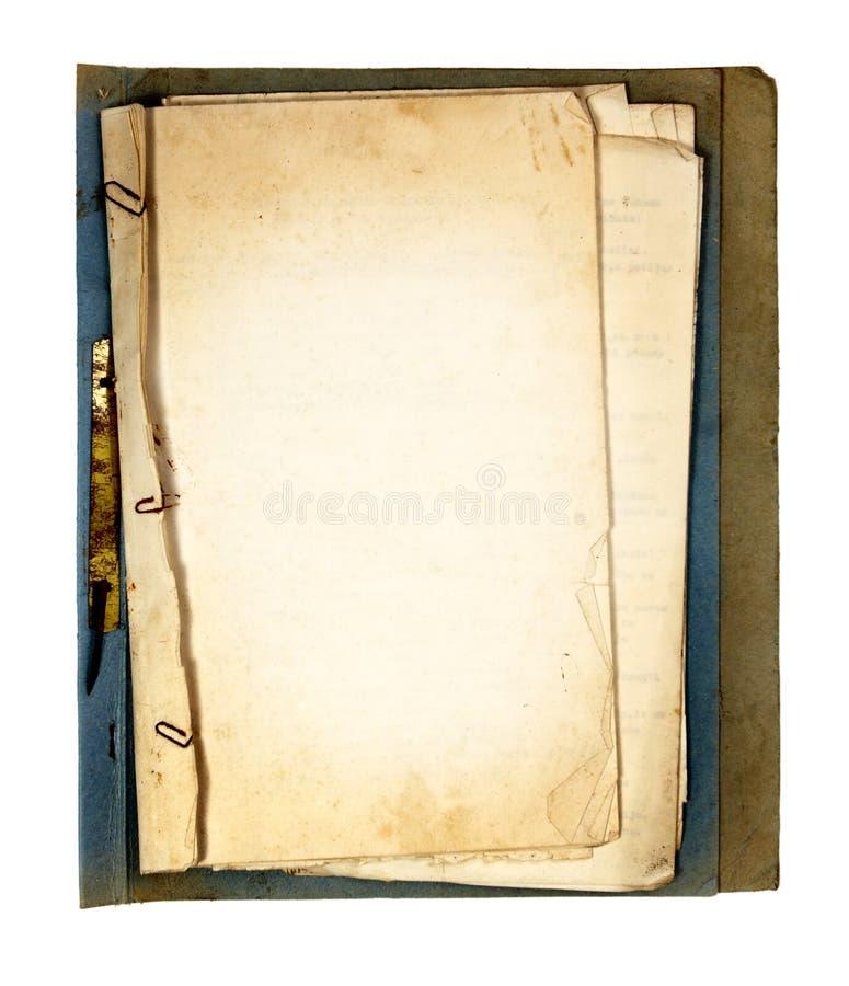 książkowe stare część zdjęcia stock