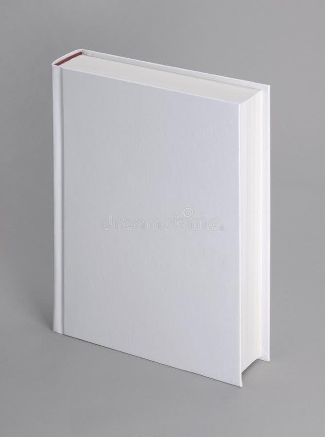 książkowego popielatego hardcover odosobniony prosty biel fotografia royalty free