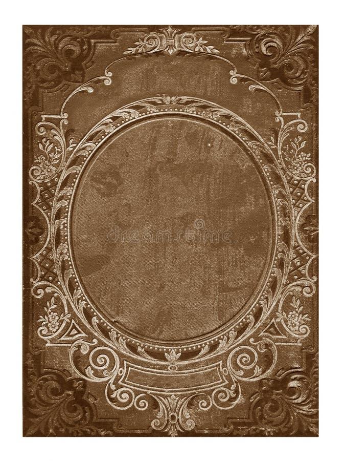 książkowej pokrywy kwiecisty stary ilustracja wektor