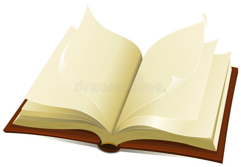 książkowy święty stary royalty ilustracja