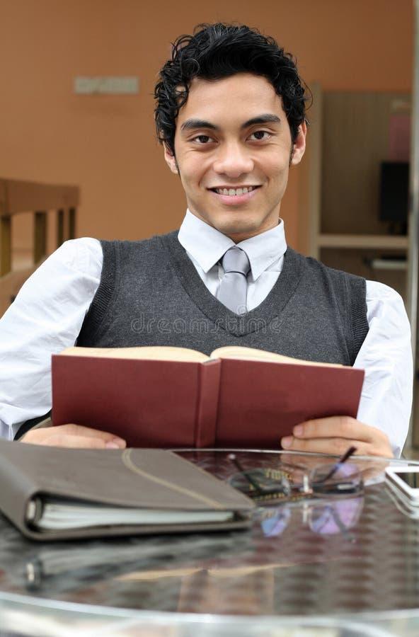 książkowy biznesmen zdjęcie stock