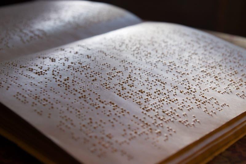 książkowy Braille fotografia stock