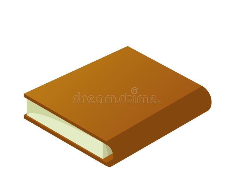 Książkowy brown gęsty obrazy stock