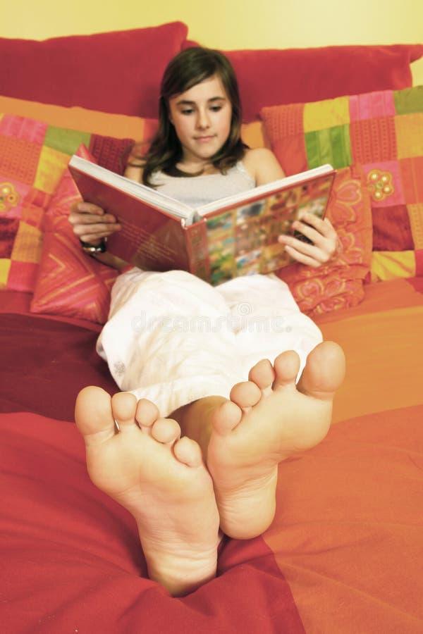 książkowy czytanie zdjęcie stock
