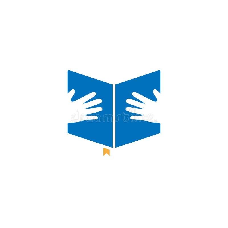 Książkowy graficznego projekta szablonu wektor ilustracja wektor