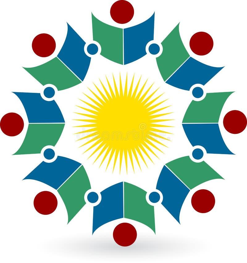 książkowy logo ilustracja wektor
