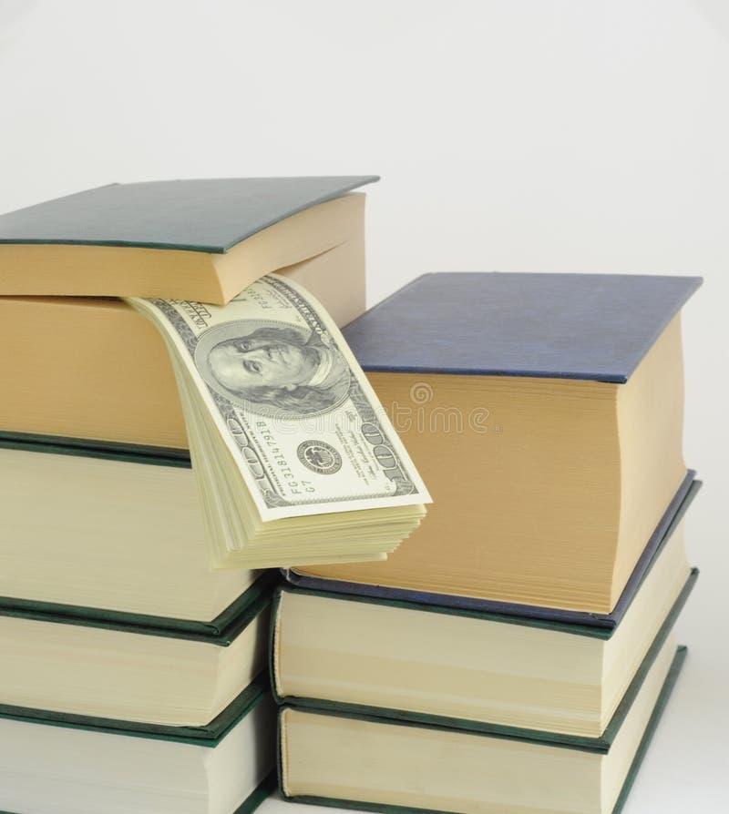 książkowy pieniądze fotografia royalty free