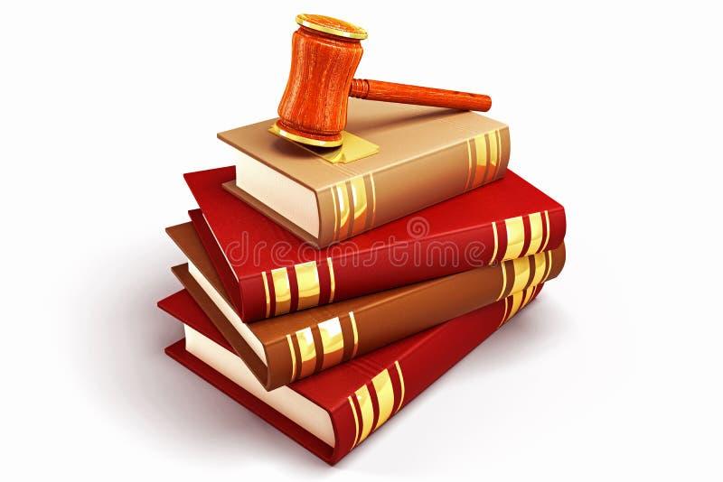 książkowy prawo ilustracja wektor