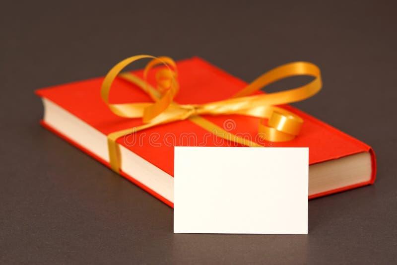 Książkowy prezent fotografia stock