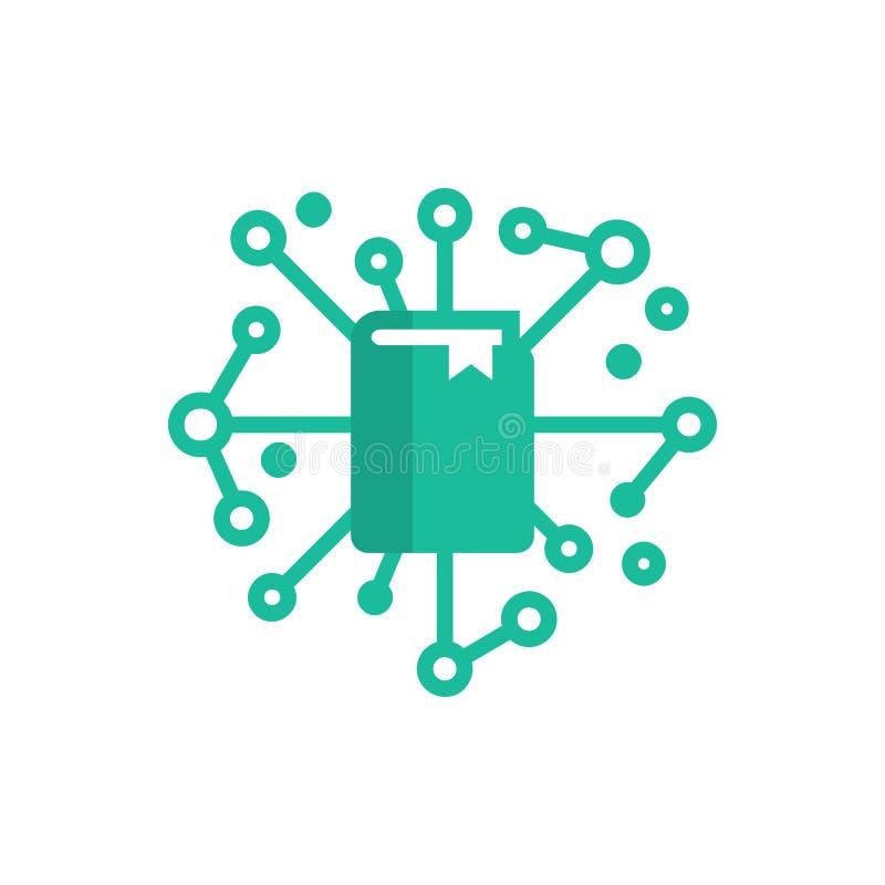 Książkowy sieć loga ikony projekt royalty ilustracja