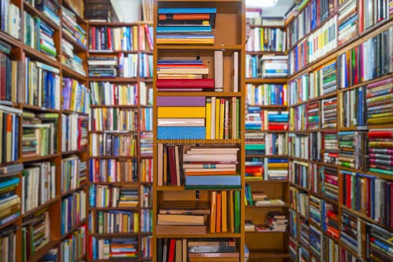 Książkowy sklep fotografia royalty free