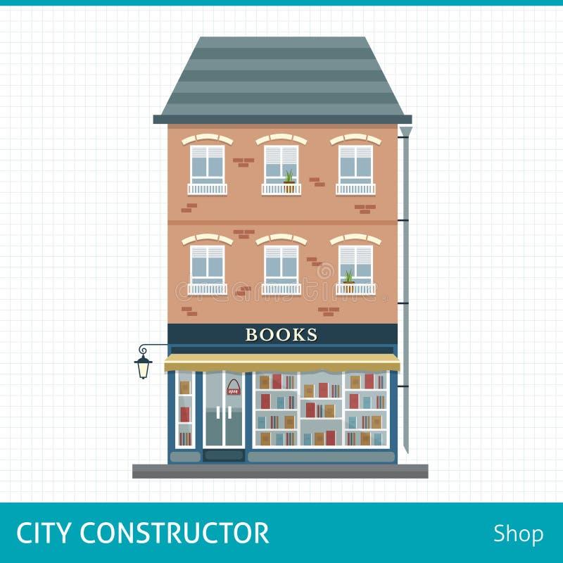Książkowy sklep ilustracja wektor