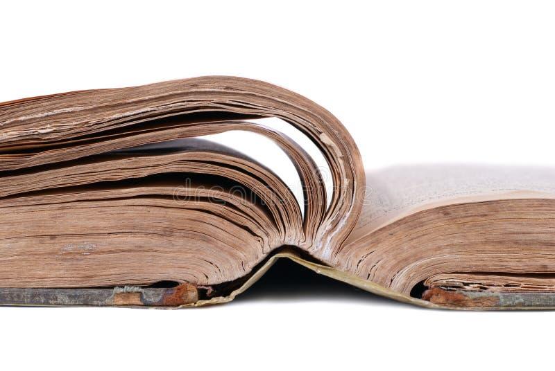 książkowy stary otwiera zdjęcia stock