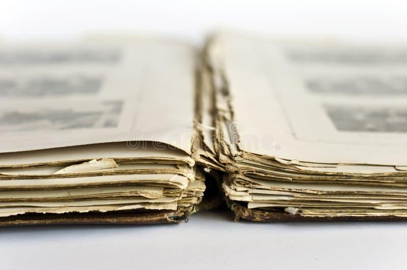 książkowy stary rozpieczętowany zdjęcia stock