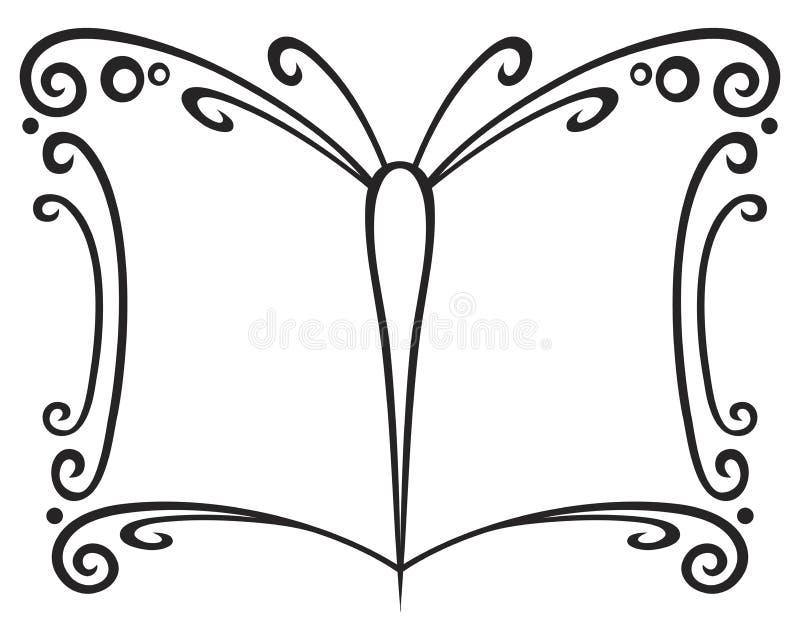 książkowy symbol ilustracji