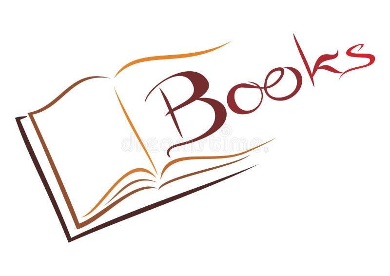 Książkowy symbol ilustracja wektor