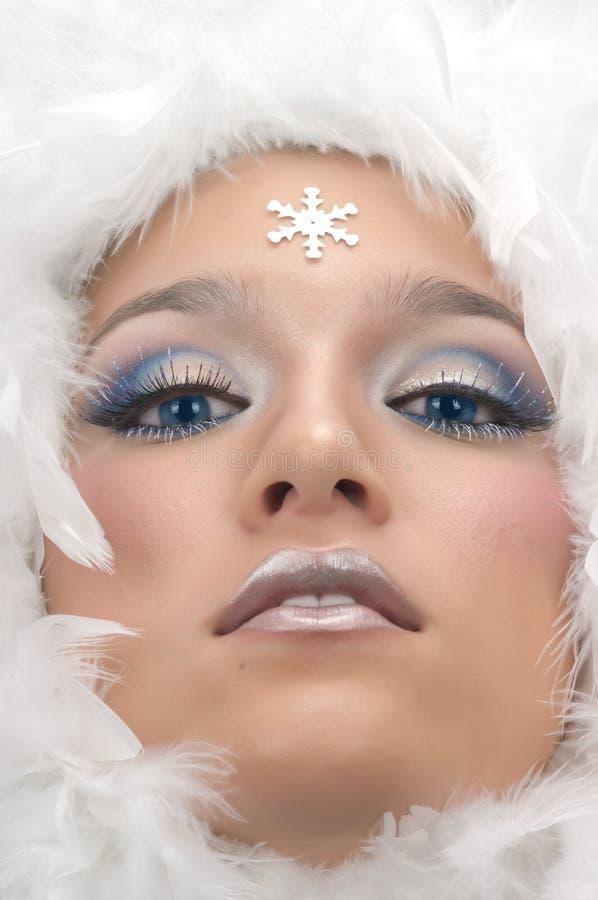 księżniczka śnieg zdjęcie royalty free