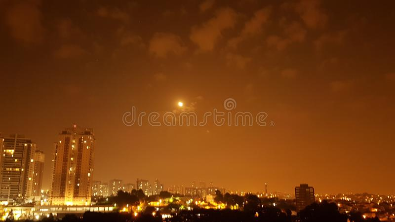 Księżyc światło zdjęcie royalty free