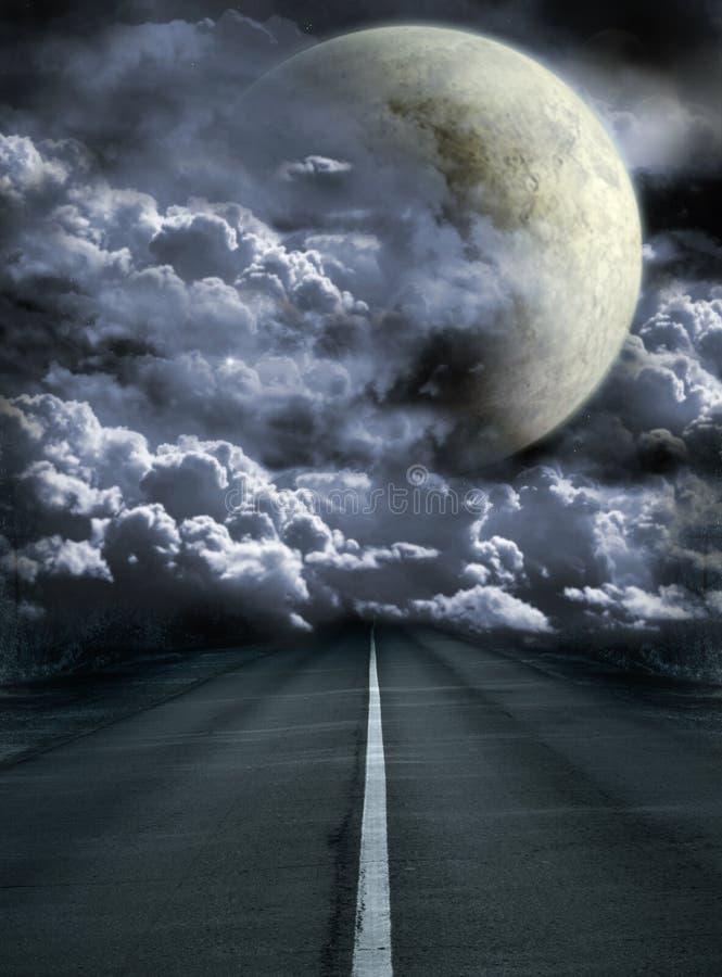 Download Księżyc obraz stock. Obraz złożonej z pusty, astralny - 13332391