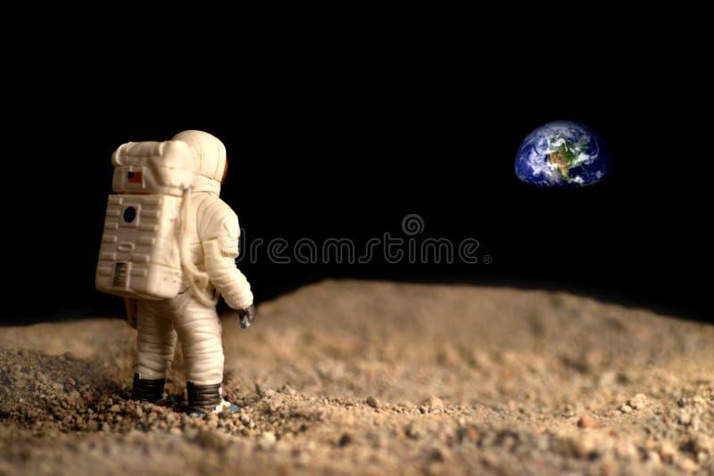 Księżyc eksploracja zdjęcie stock