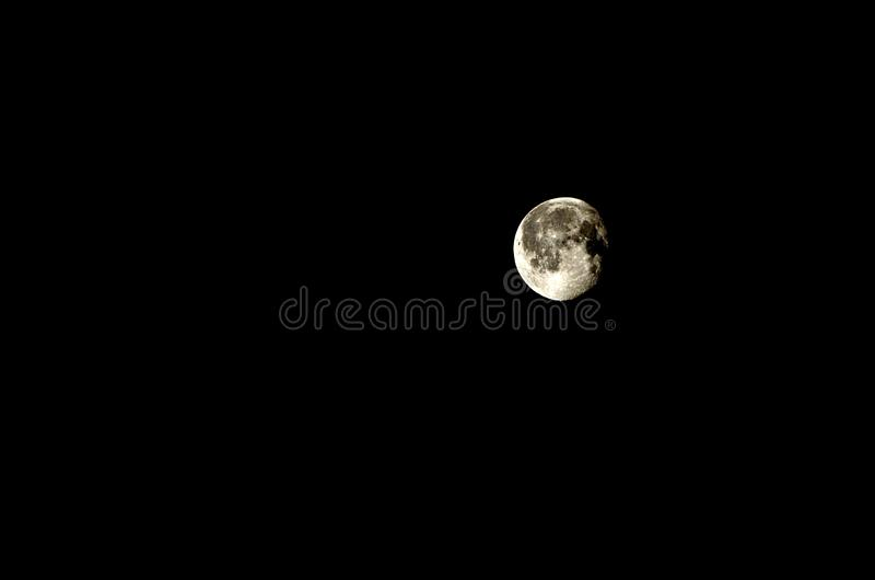 Księżyc Enigma obrazy stock