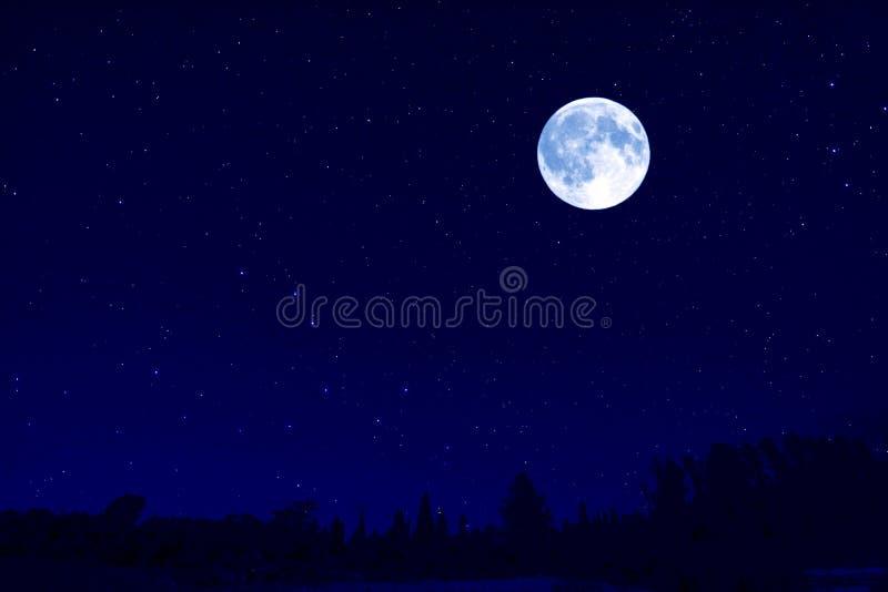 księżyc krajobrazowa zdjęcia stock