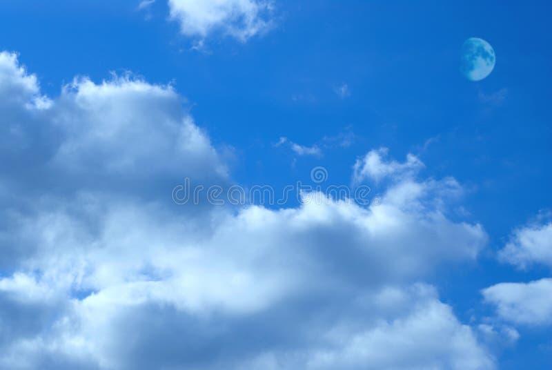 księżyc niebo zdjęcia royalty free