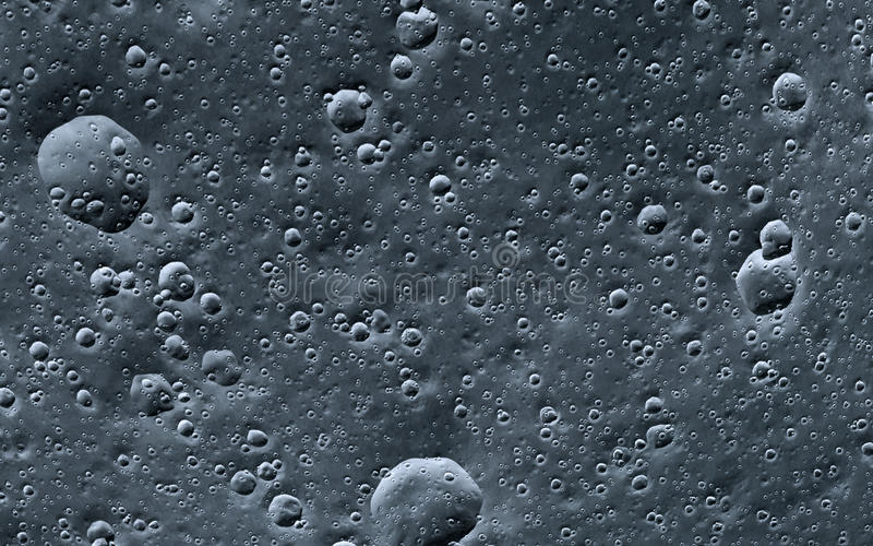 Księżyc powierzchnia fotografia royalty free