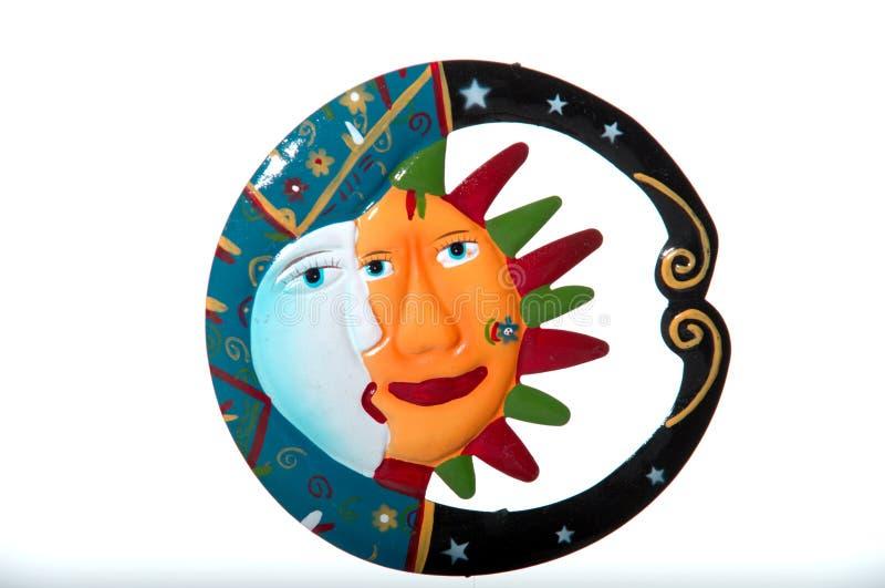 księżyc słońce zdjęcia royalty free