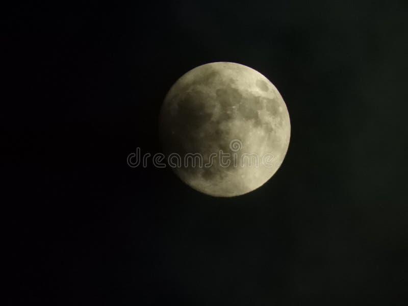 Księżyc skutek zdjęcia stock