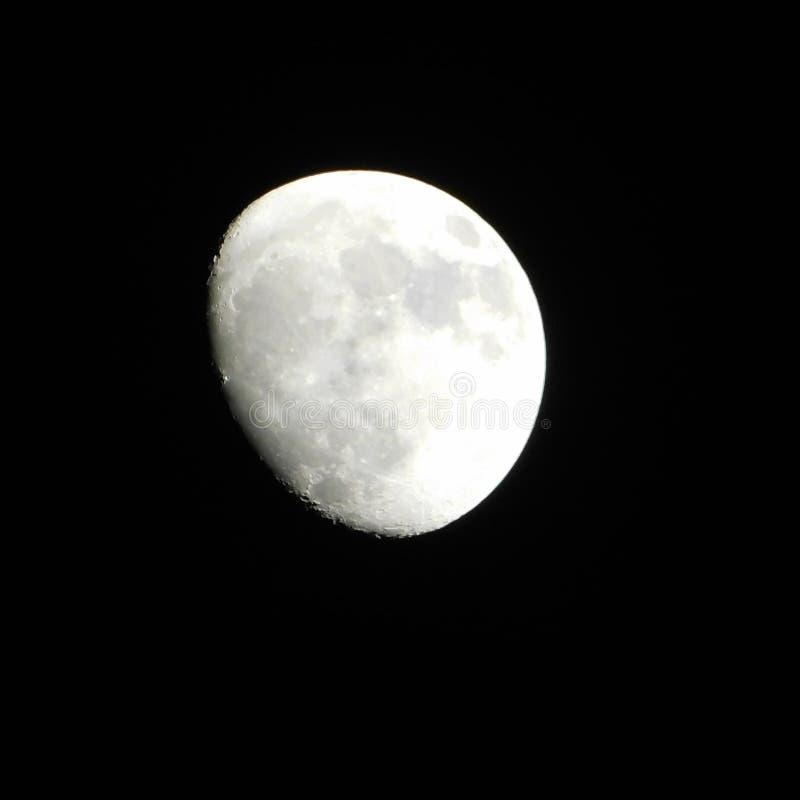 Księżyc w chmurnej nocy… zdjęcia royalty free