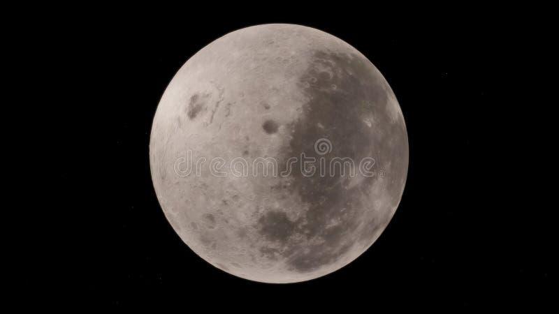 Księżyc w kosmosie, powierzchnia Wysokiej jakości, postanowienie, 4k Ten wizerunku elementy pod warunkiem, że NASA ilustracja wektor