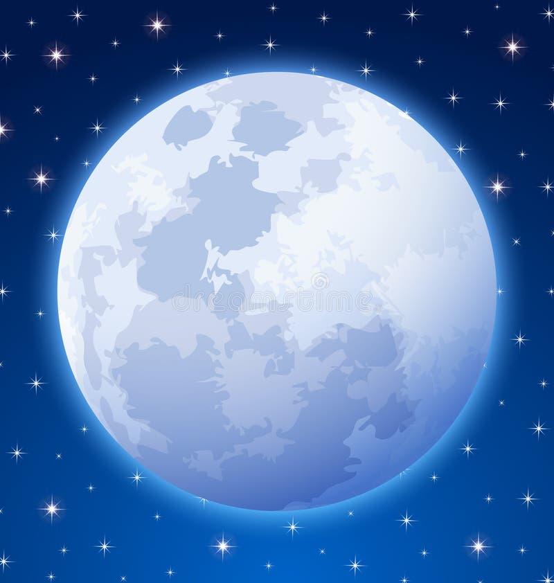 Księżyc w pełni zdjęcia stock