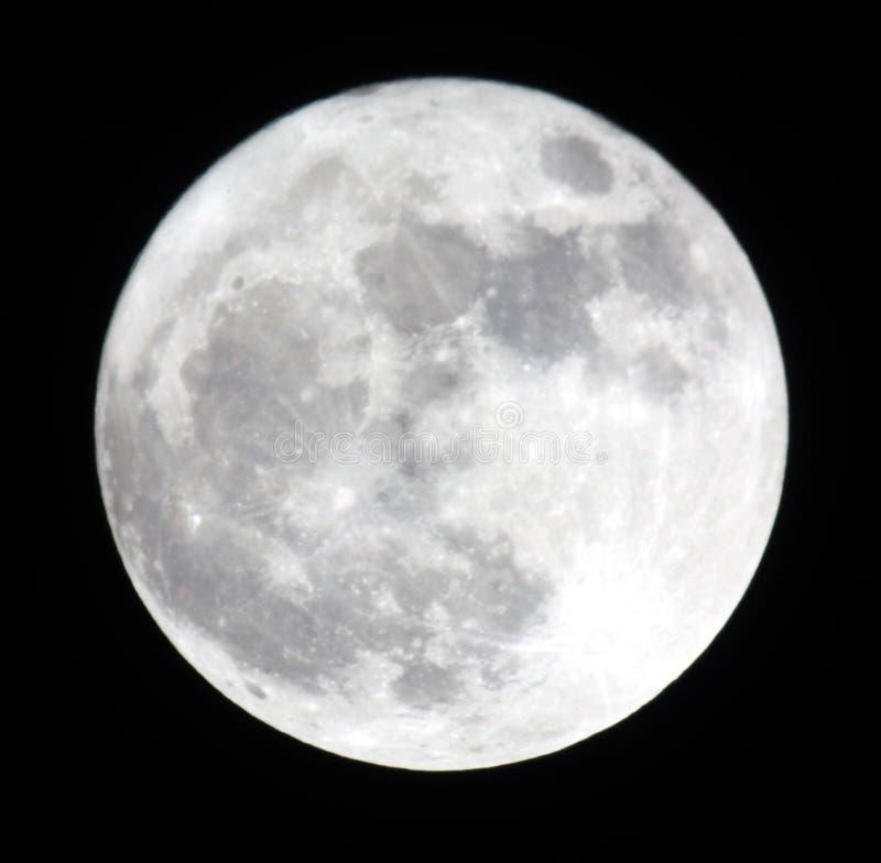 księżyc w pełni faza obrazy stock