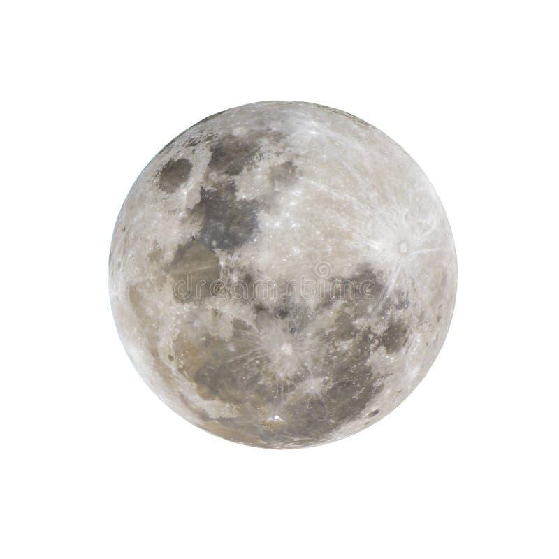 Księżyc W Pełni Odizolowywający obrazy stock