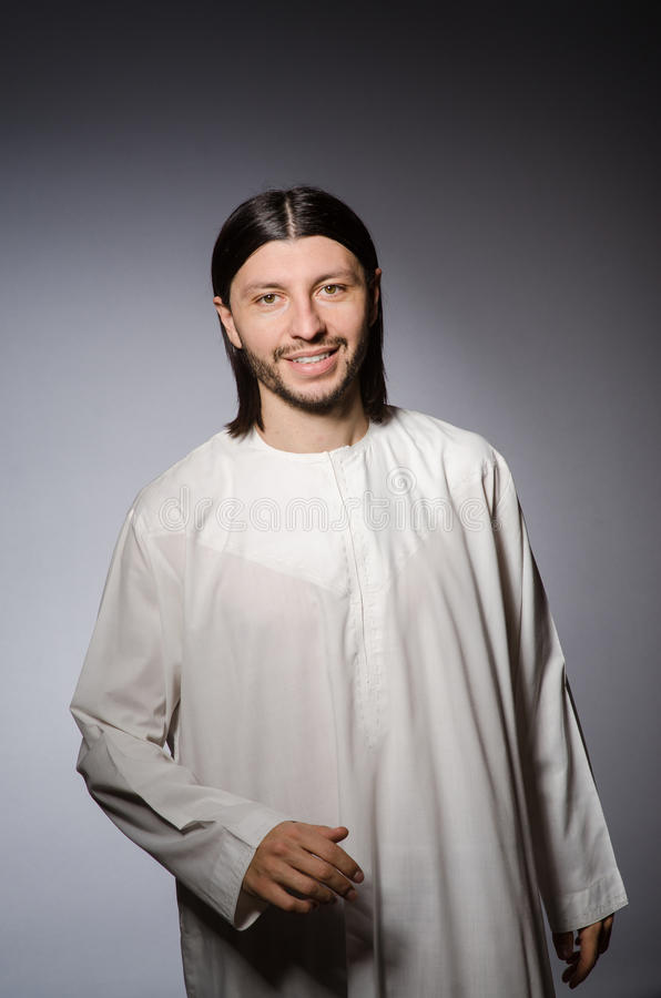Księdza mężczyzna w religijnym obraz royalty free
