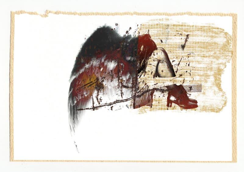księga anioła royalty ilustracja