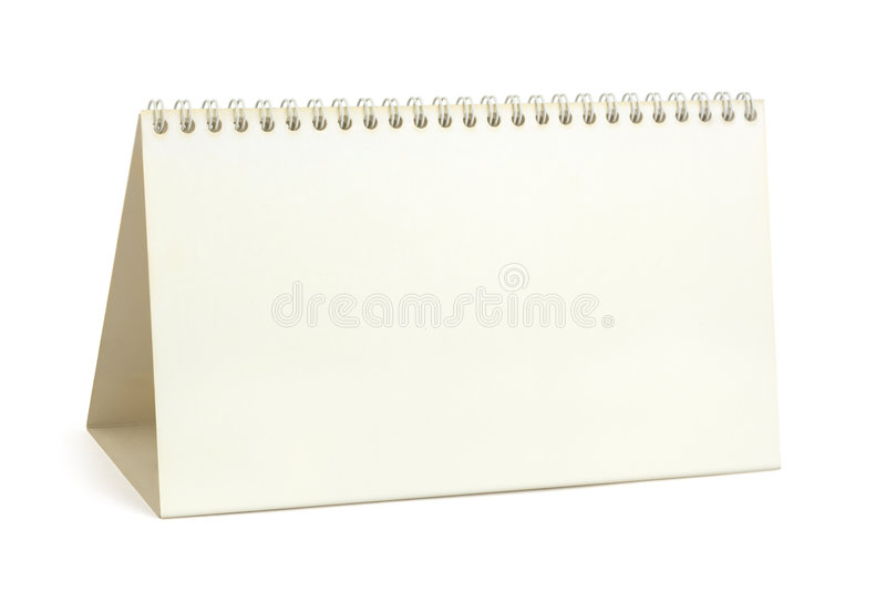 księga kalendarzowego biurko fotografia stock