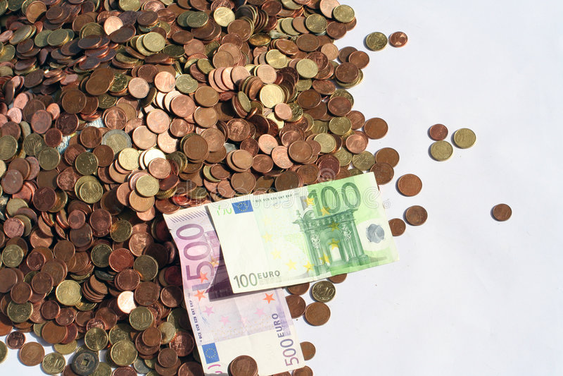 księga moneta pieniądze zdjęcia stock