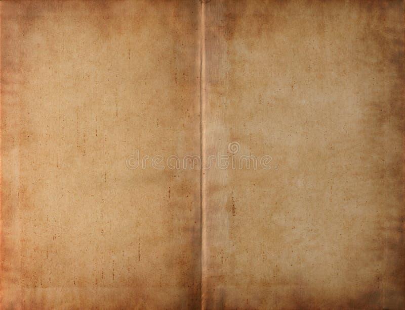 księga smudged ciemności książkowy rozwijającym się zdjęcia royalty free