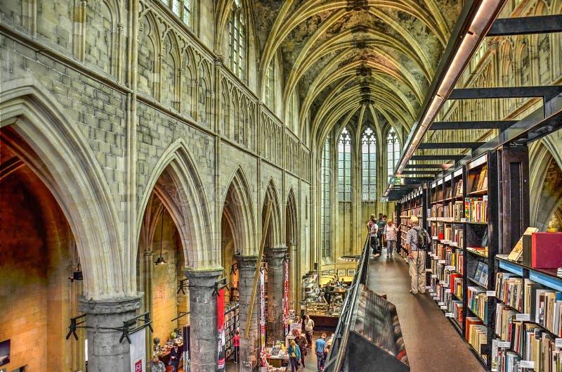 Księgarnia w kościele zdjęcie stock