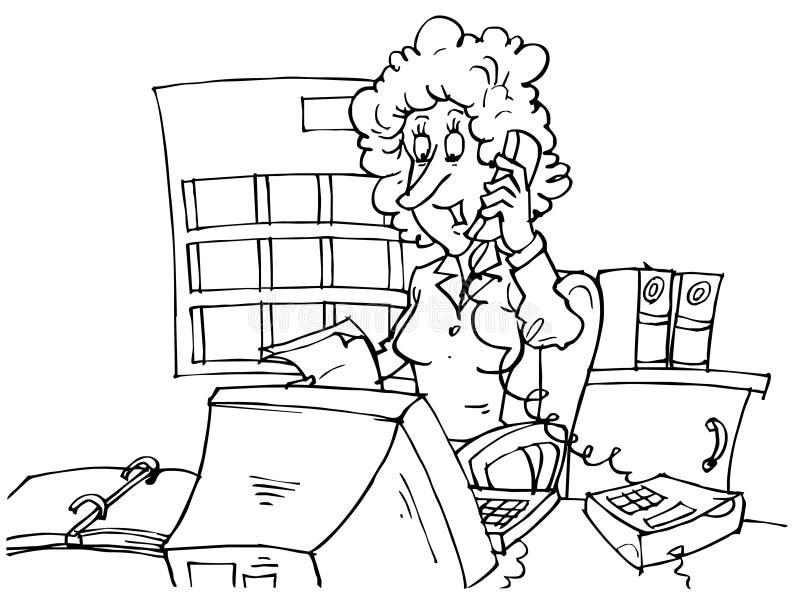 księgowa ilustracja wektor