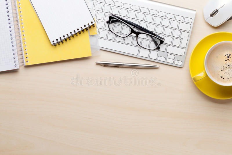 księgowości biznesowy pojęcia biurka biuro fotografia royalty free