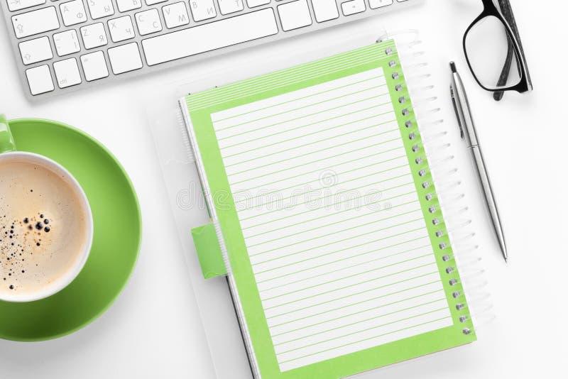 księgowości biznesowy pojęcia biurka biuro zdjęcie stock